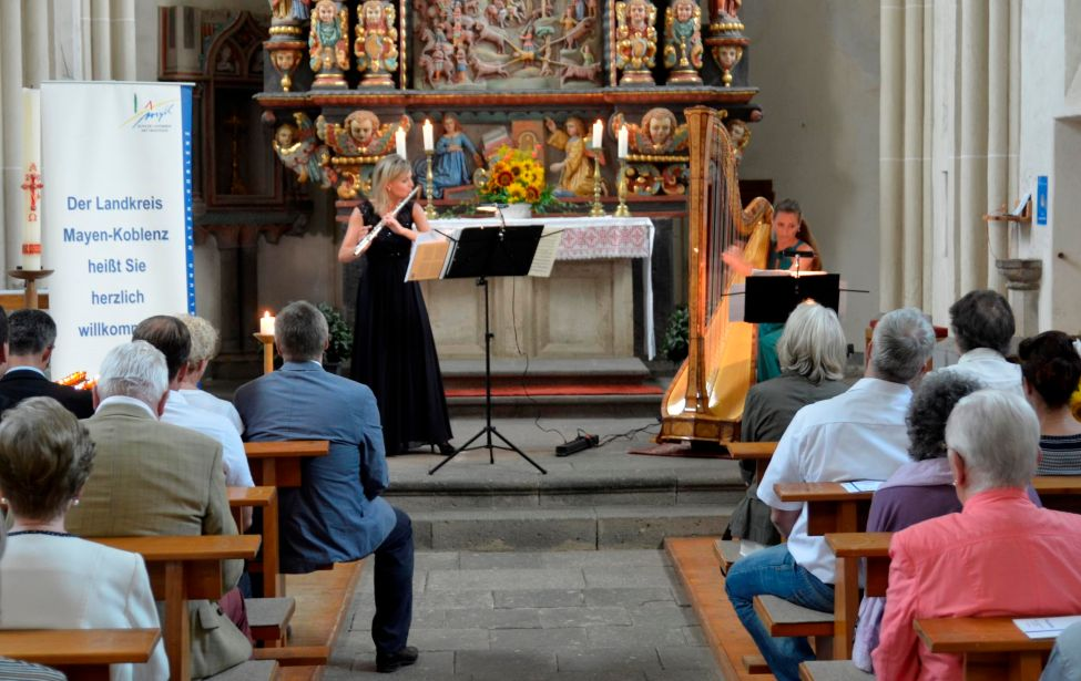 "Sommerclassickonzert 2016:  ""Duo il Sogno"" in der Wallfahrtskirche Fraukirch in Thür"